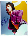 Mick Jagger signed autographs