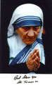 Mother Teresa signed autographs