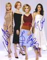 Sex and the City signed autographs