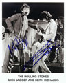 The Rolling Stones signed autographs