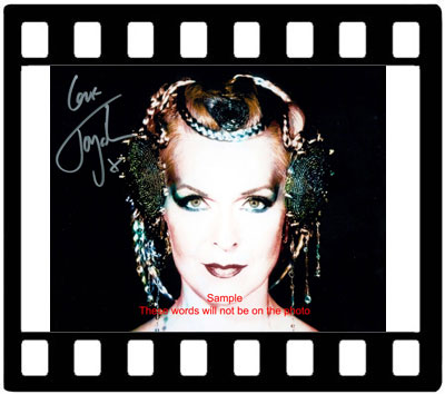 Toyah Willcox signed autographs