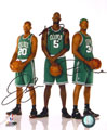 Kevin Garnett, Paul Pierce & Ray Allen ORIGINAL Signed Autograph Photo