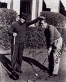 Bob Hope & Bing Crosby signed autographs