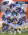 2004 New England Patriots signed autograph