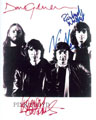 Pink Floyd signed autographs