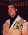 Steven Seagal signed autographs